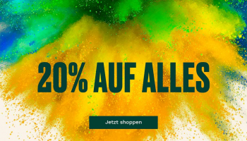 The Body Shop: 20% auf alles