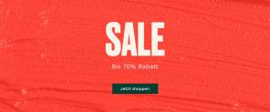 SALE bis 70% Rabatt bei The Body Shop