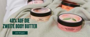 -40% auf die zweite Body Butter bei The Body Shop