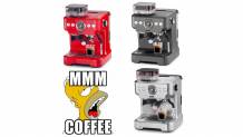 Siebträger-Kaffeemaschien von Trisa in drei Farben bei melectronics zum Bestpreis