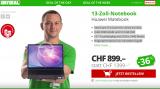 Huawei Matebook (Modell 53010GCL) zum Bestpreis von CHF 899.- auf Daydeal