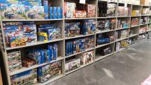 Spielwaren ausverkauf im coop outlet Schönbühl