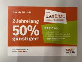 COOP Mobile (Swisscom Netz): 50% Rabatt auf Basic Abo
