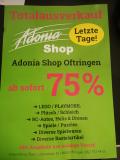Totalausverkauf mit 75% Rabatt im Adonia Shop Oftringen (Spielzeug, Dronen, Puzzles, Bastelartikel,…)