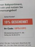 LeShop: 10% Gutschein