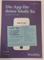 Frankly Gutschein CHF 50 – Vergleich VIAC und Finpension