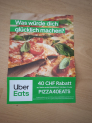 40 CHF Rabatt Uber Eats