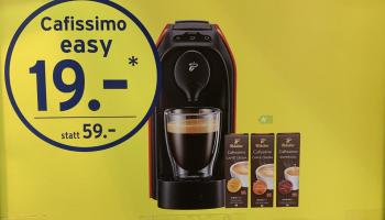 [offline] Kapselmaschine + 3 x 10 Kaffeekapseln – Kombiangebot bei Coop