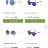 Bis zu 70% auf Sonnenbrillen von Ocean Sunglasses bei eboutic.ch