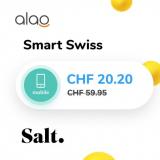 Salt Smart Swiss bei alao für CHF 20.20 im Monat + CHF 29.- Cashback + CHF 25.- Gutschein