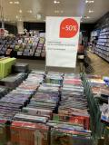 [Lokal Manor Letzipark] -50% Total Ausverkauf auf alle CD/DVD, Blu-ray & Vinyl