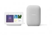 Google Nest Hub 2 + Google Nest Audio 2 Weiss