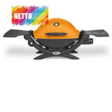 WEBER Q 1200, CH-Version, Orange bei nettoshop für 189.- CHF