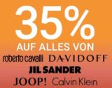 35% auf ALLES von Roberto Cavalli, Davidoff, Jil Sander, Joop & Calvin Klein bei der Import Pafümerie
