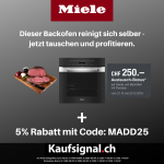 Kaufsignal.ch Miele Austauch-Bonus