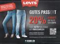20% Rabatt auf alles von LEVI'S auf Jeans.ch