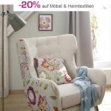 20% auf Möbel und Heimtextilien bei Jelmoli-Shop