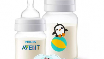 Anti-colic Flaschenset + Nuggis im Philips Shop