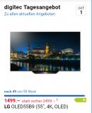 TV // LG OLED55B9 für 1499.- bei digitec