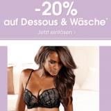 20% auf Dessous und Wäsche bei Lascana, z.B. Lascana Schalen-BH für CHF 51.92 statt CHF 64.90