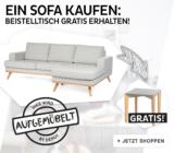 Ecksofa bei Depot mit gratis Beistelltisch für nur 799€