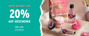 20% auf Geschenke von The Body Shop