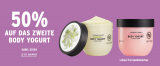 50% auf zweites Body Yogurt von THE BODY SHOP