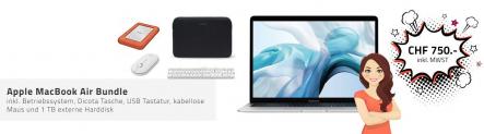 [Refurbished A] Apple MacBook Air Bundle bei Auctionline