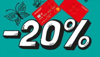 Manor: bis zu 20% Rabatt mit der Manor Karte!