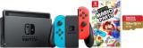Nintendo Switch + Mario Party + 128GB MicroSD bei digitec