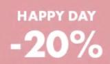 Happy Day bei marionnaud – 20% auf alles