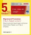 Migrol Private Card dauerhaft kostenlos & 5 Rp./Liter Reduktion