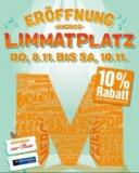 **Local Deal** Knaller in Zürich – Eröffnung Migros Limmatplatz – 10% Rabatt im Migros-Supermarkt und melectronics