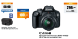 melectronics CANON EOS 4000D Kit mit EF-S 18-55mm + Bag und 16GB SD Karte für 289.- CHF