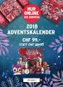 Adventskalender 2018 für CHF 99.00 bei The Body Shop