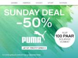 Nur heute: 50% auf ausgewählte Schuhe von Puma bei Dosenbach, z.B. Puma Flex T1 Herren Sneaker für CHF 34.95 statt CHF 69.90