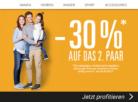 30% auf das zweite Paar Schuhe bei Ochsner Shoes, z.B. Guess Klara Damen für CHF 62.93 statt CHF 89.90