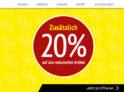 20% zusätzlicher Rabatt auf alle reduzierten Artikel bei Ochsner Shoes
