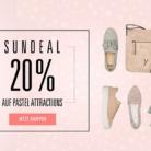 Nur heute: 20% auf ausgewählte Artikel in Pastell bei Ochsner Shoes, z.B. Gant New Haven Damen Sneaker für CHF 79.90 statt CHF 99.90