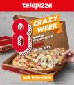 Telepizza: 30 cm Pizza für 8 Stutz (bei Abholung)
