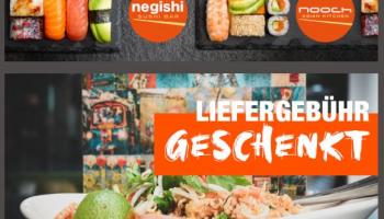 Negishi & Nooch: Gratis Lieferung