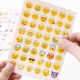 48 Emoji-Sticker für 19 Rappen inkl. Lieferung