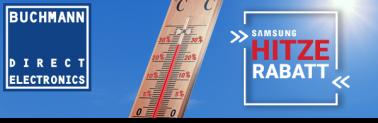 Buchmann: Hitzerabatt auf Samsung 55Q9FN und 65Q9FN – Temperatur = Rabatt