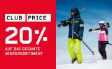20% auf das Wintersortiment bei Ochsner Sport