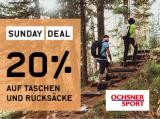 20% Rabatt auf Taschen und Rucksäcke bei Ochsner Sport (nur heute!)