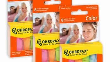 3er Set – Ohropax Color Ohrstöpsel – Versand Kostenlos für 9.60 CHF statt 26 CHF