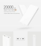 Xiaomi Powerbank 20'000mAh Dual USB Bi-directional Quick Charge für CHF 22.50 statt 28.13