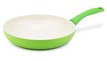 KUHN RIKON Colori Cucina Ceramic in der Bratpfanne Grün, 24 cm oder 28cm