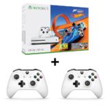 Xbox One S 500GB inkl. FH3 und Hot Wheels DLC + 1/2 zusätzliche Controller