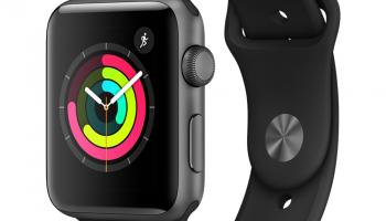 Apple GPS Watch Series 3, 42mm Aluminium Space Grau bei Manor
